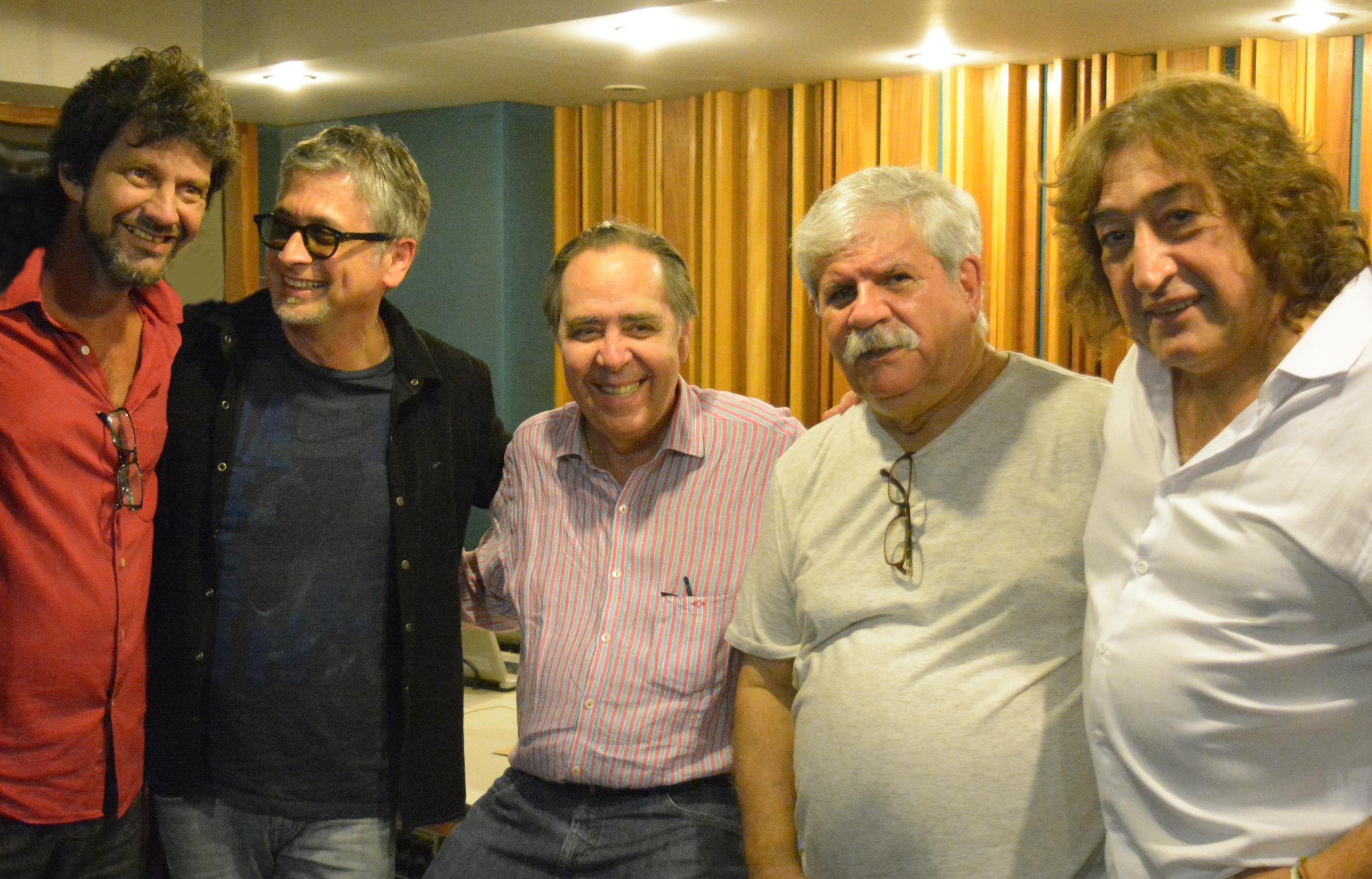 Igor Eça, Zé Renato, Edu Lobo< Dori Caymmi e Toninho Horta