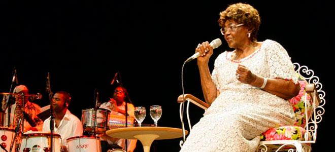 Dona Ivone Lara, primeira-dama do samba - Foto: Reprodução