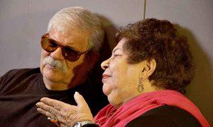 Nana e o mano Dori Caymmi, responsável pelos arranjos de um álbum que já nasceu clássico - Foto: Divulgação
