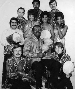 Moacir e seu grupo nos Estados Unidos nos anos 1960 - Foto: Reprodução