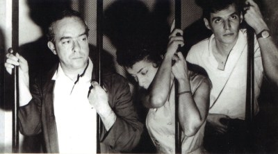 Elizeth Cardoso com Vinicius e Tom nas origens da Bossa Nova - Foto: Reprodução