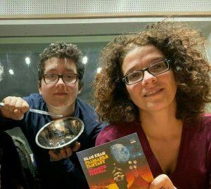 Gustavo Gomes, filho de Felipe, e Ana Claudia  Krause, trabalham na produção do Radar Brasil - Foto: Acervo Pessoal