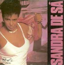 Capa do álbum 'Sandra de Sá', de 1988 - Foto: Divulgação