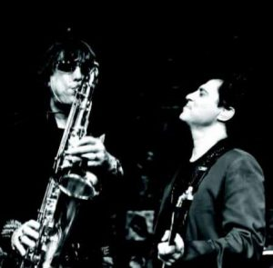 Beto Saroldi e Frejat inauguram parceria com o blues 'Noites e Noires Sem Fim' - Foto: Acervo Pessoal