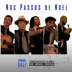 Capa do EP 'Nos Passos de Noel', da banda carioca Salvadores Dali - Foro: Divulgação