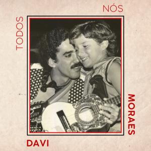 A capa do EP traz uma foto de Davi criança com o pai - Foto: Divulgação