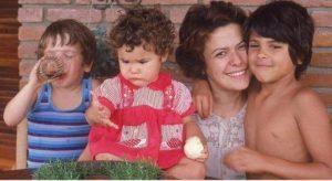 Com os filhos Pedro, Maria Rita e João Marcelo - Foto: Reprodução