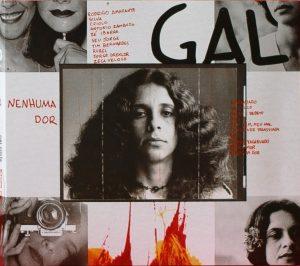 Capa do álbum 'Nenhuma Dor', de Gal Costa - Fotos: Divulgação