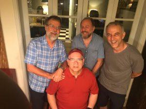 Fortes, Bi, Barone e Herbert : amizade que atravessa o tempo - Foto: Divulgação