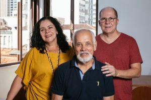casa do choro Luciana, Cristóvão e Carrilho - Foto: Flora Pimentel
