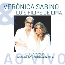 Capa do CD Meu Laiairaiá - Verônica Sabino