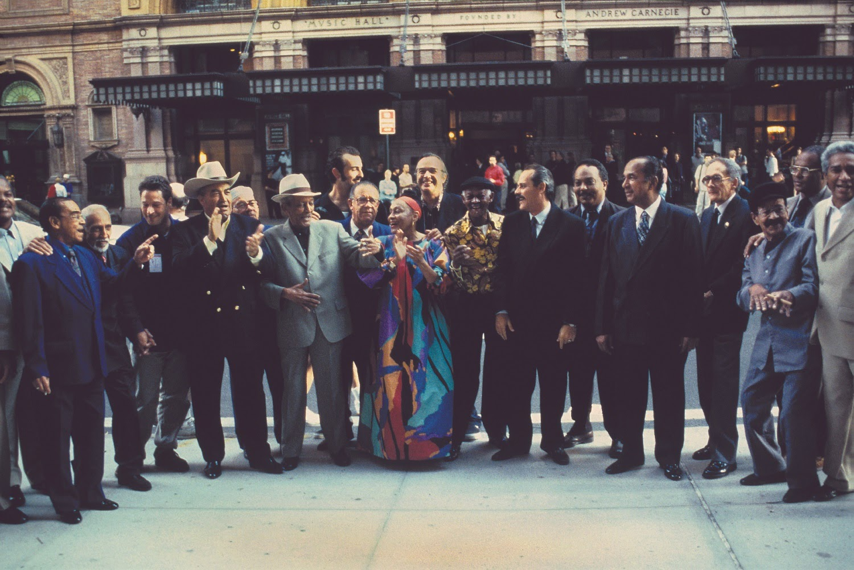 Buena Vista Social Clube no Carnegie Hall por Ebet Roberts