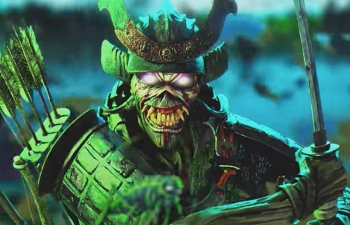 eddie samurai iron Maiden